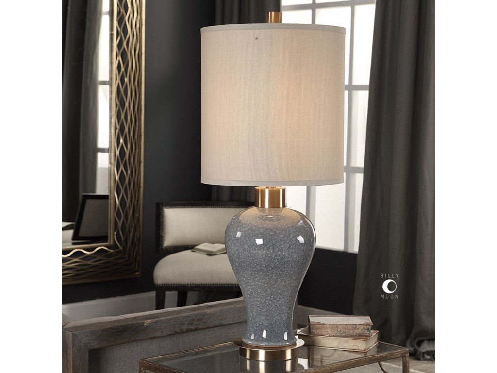 Uttermost Table LampsCailida Blue Gray Lamp
