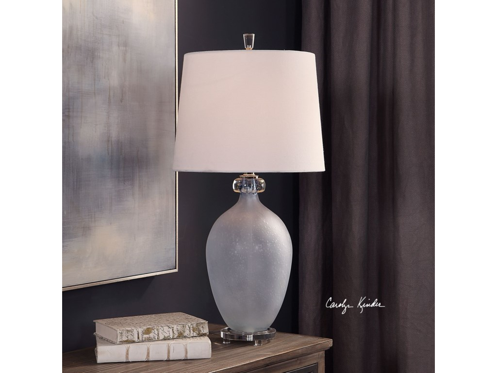 Uttermost Table LampsLeah Frosted Glass Table Lamp