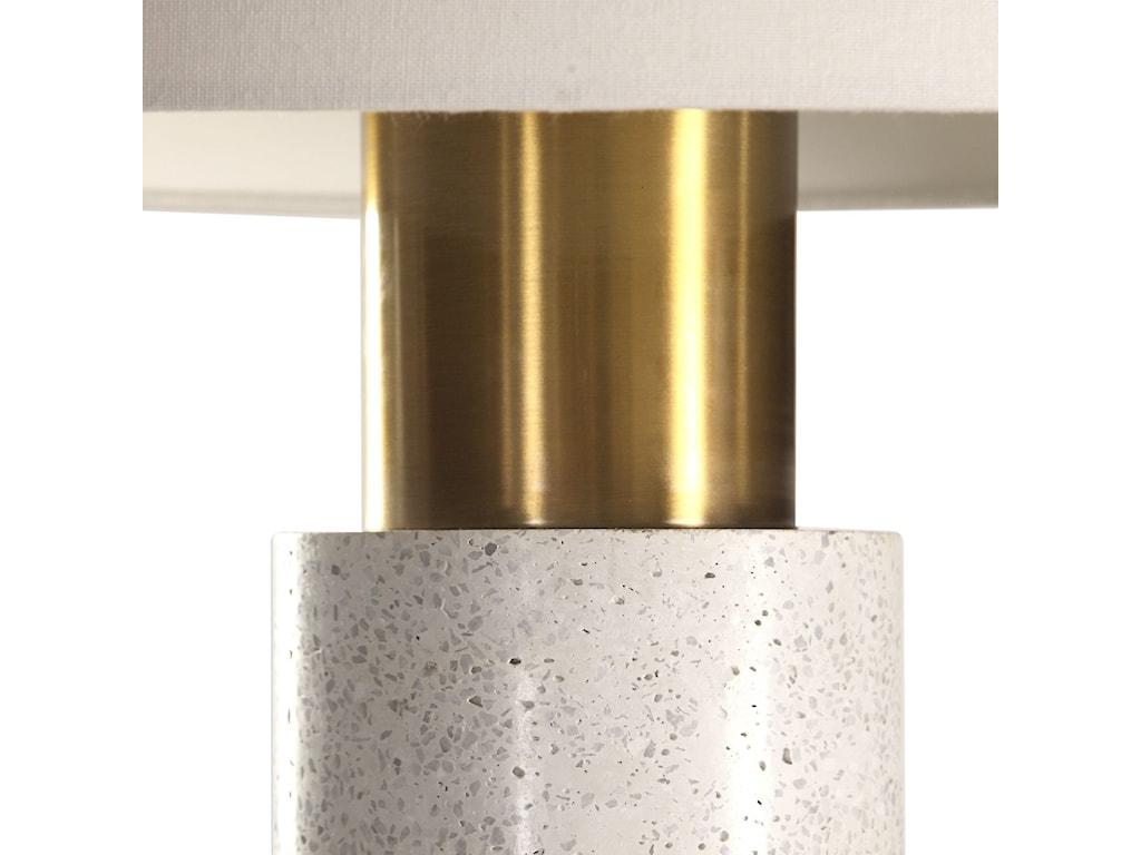 Uttermost Table LampsVaeshon Concrete Table Lamp