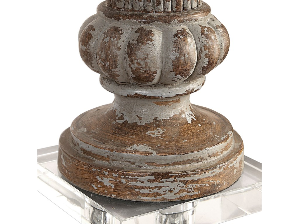 Uttermost Table LampsTreneece Aged Pecan Lamp