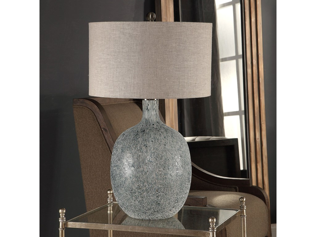 Uttermost Table LampsOceaonna Glass Table Lamp