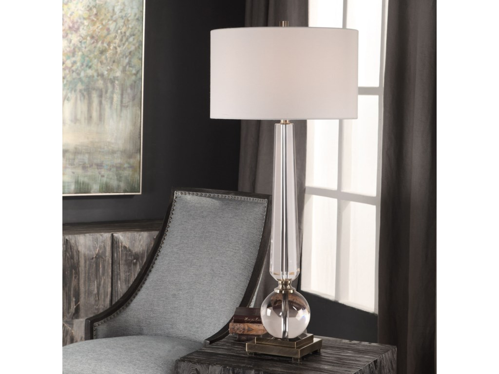 Uttermost Table LampsCrista Crystal Lamp