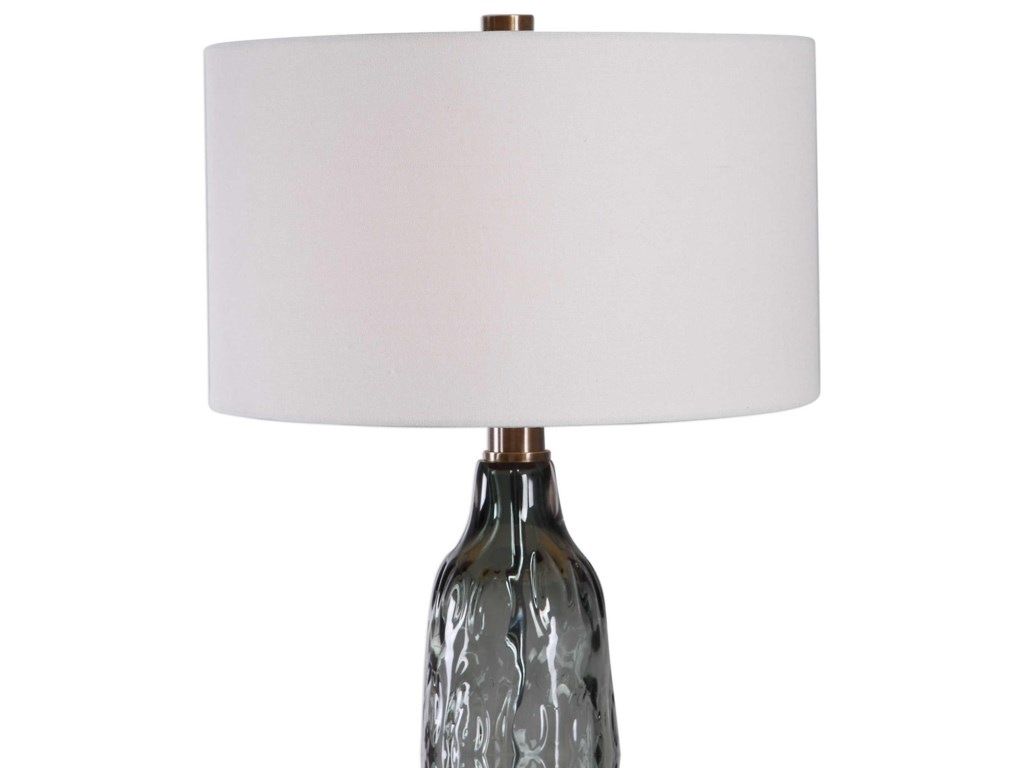 Uttermost Table LampsZena Glass Table Lamp