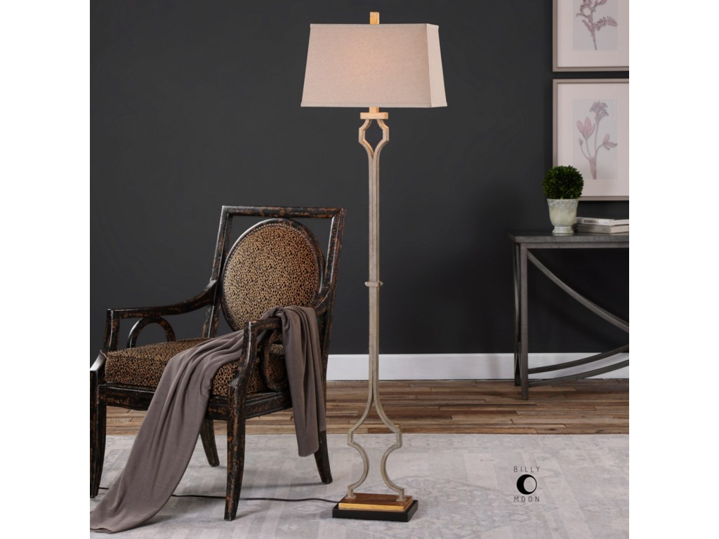 Uttermost Floor LampsVincent Gold Floor Lamp