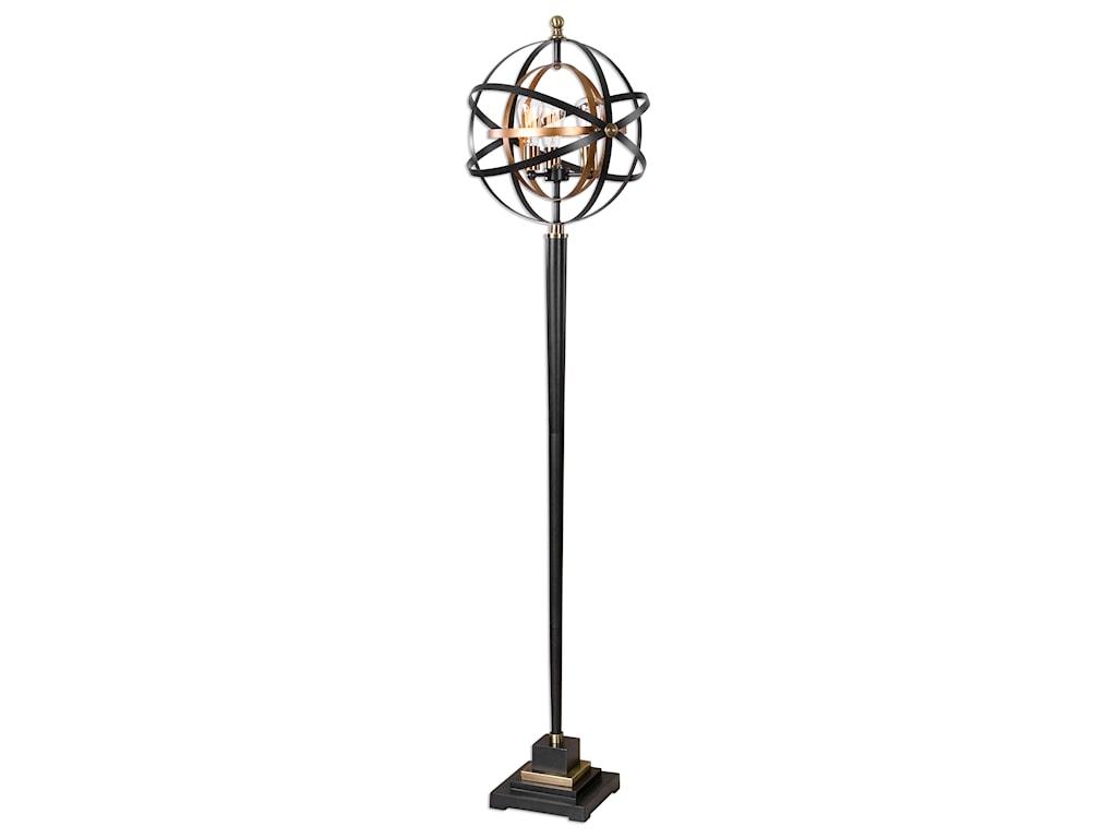 Uttermost Floor LampsRondure Sphere Floor Lamp
