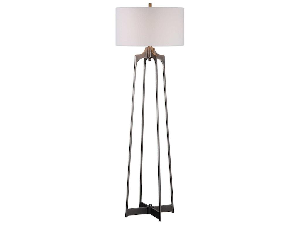 Uttermost Floor LampsAdrian Modern Floor Lamp