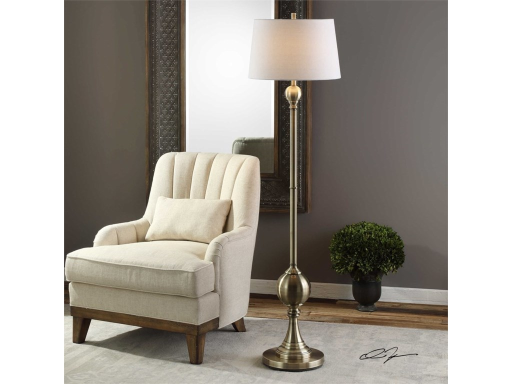Uttermost LampsAbriola Floor Lamp