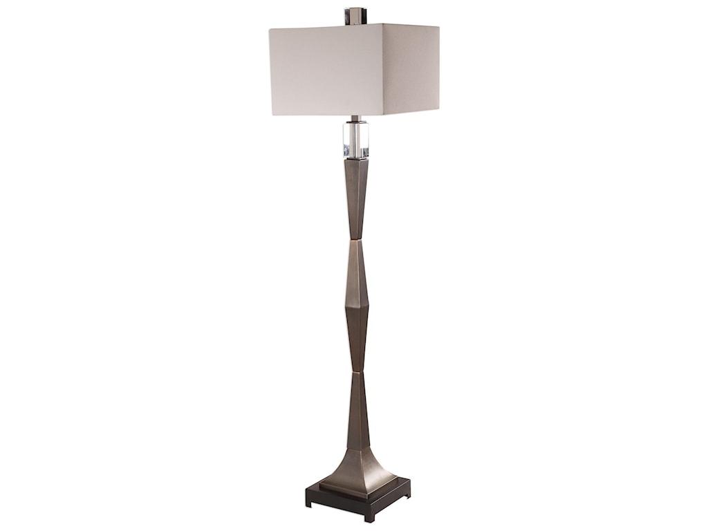 Uttermost Floor Lamps Bralon Dark Bronze Lamp Ad