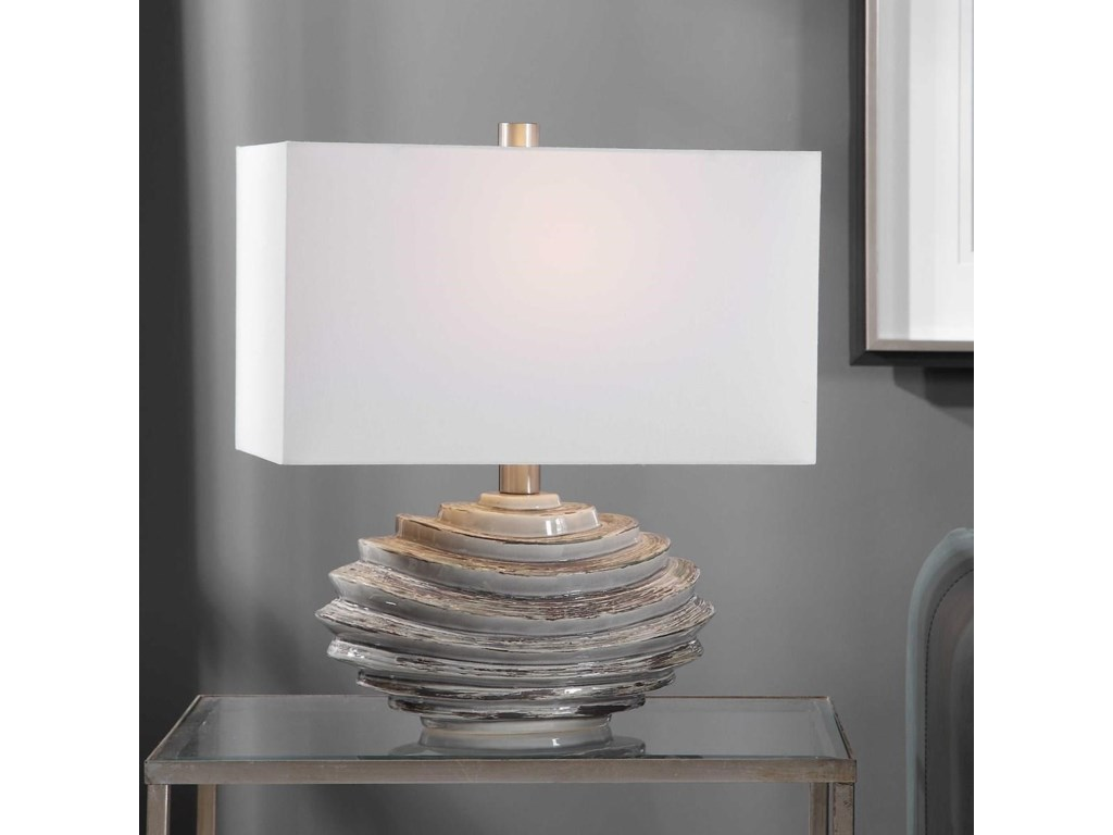 Uttermost Table LampsTalucah Gray Table Lamp