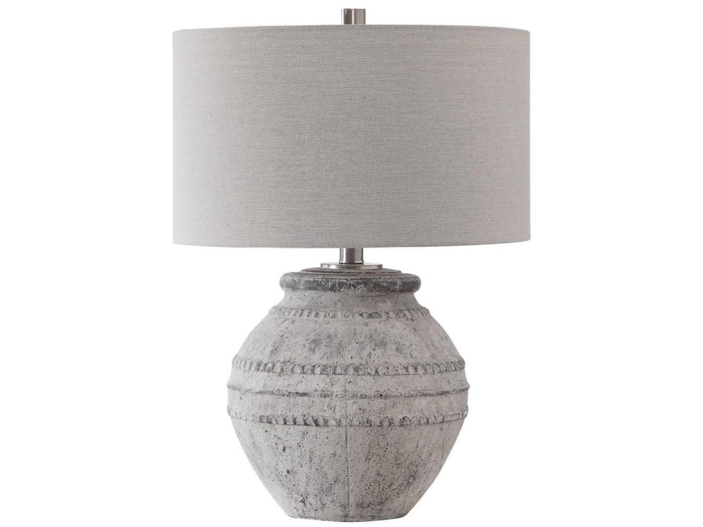 Uttermost Table LampsMontsant Stone Table Lamp