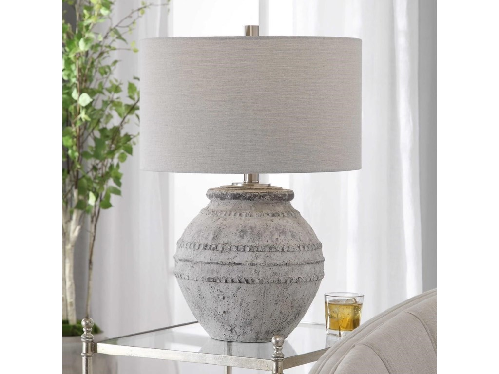 Uttermost Table LampsMontsant Stone Table Lamp