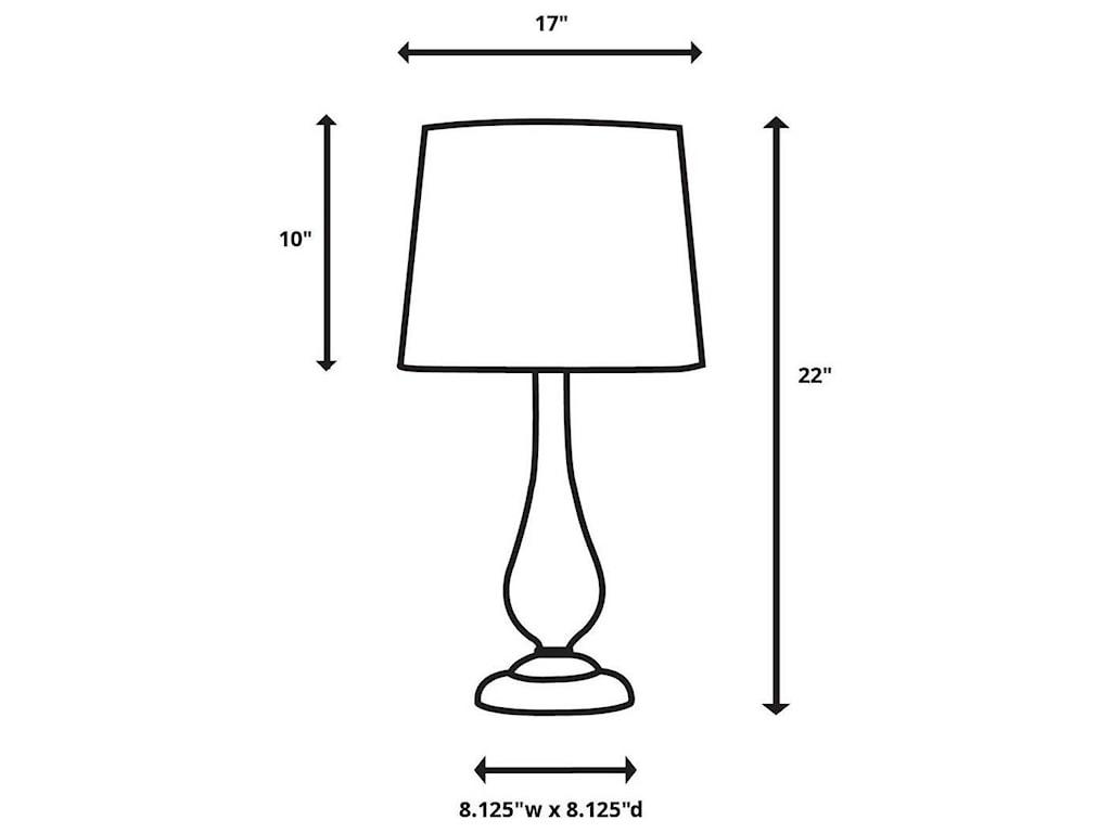 Uttermost Table LampsRhiannon Modern Table Lamp