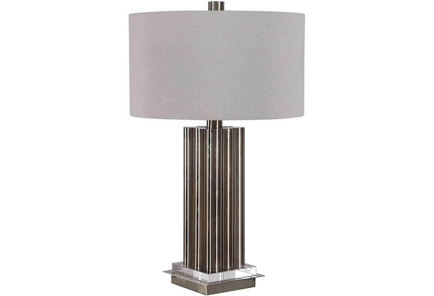 Uttermost Table Lamps Conran Brass Table Lamp Pedigo Furniture Table Lamps