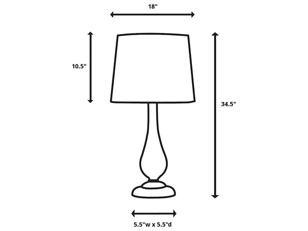 Uttermost Table LampsKathleen Metallic Silver Table Lamp