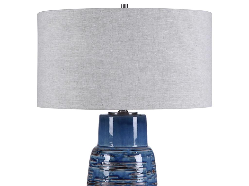 Uttermost Table LampsMagellan Blue Table Lamp