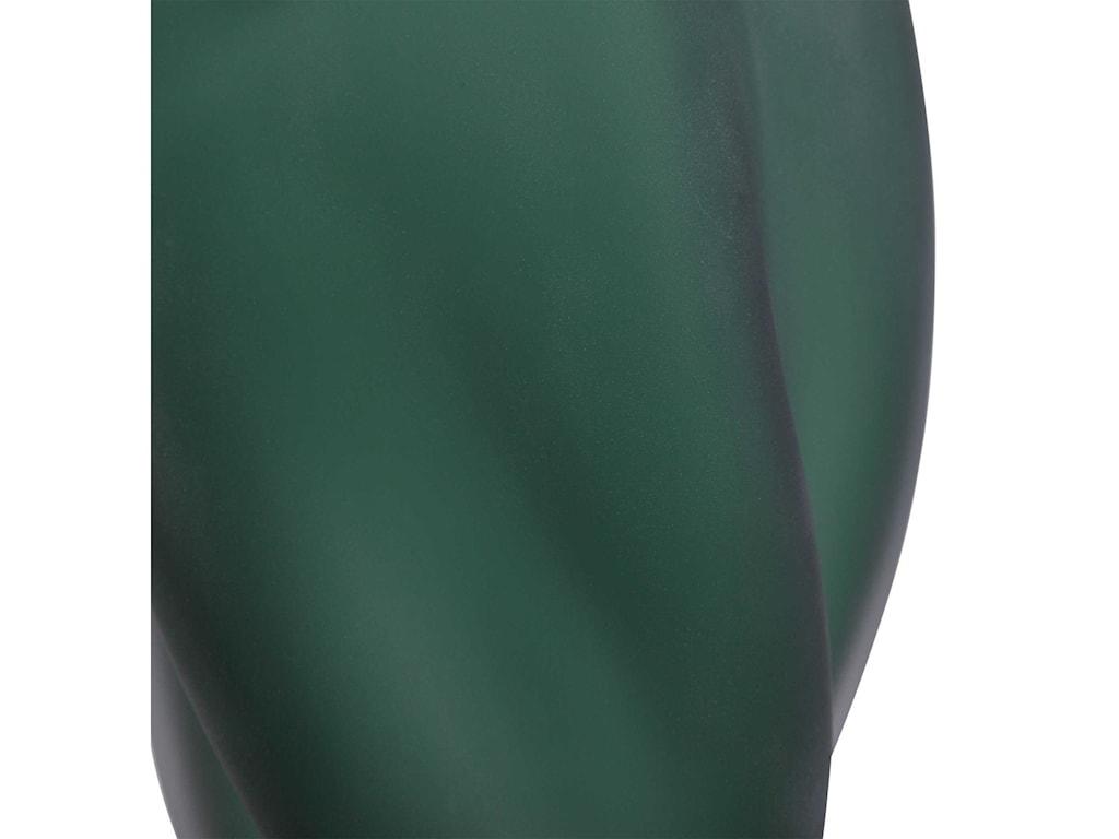 Uttermost Table LampsEsmeralda Green Glass Table Lamp
