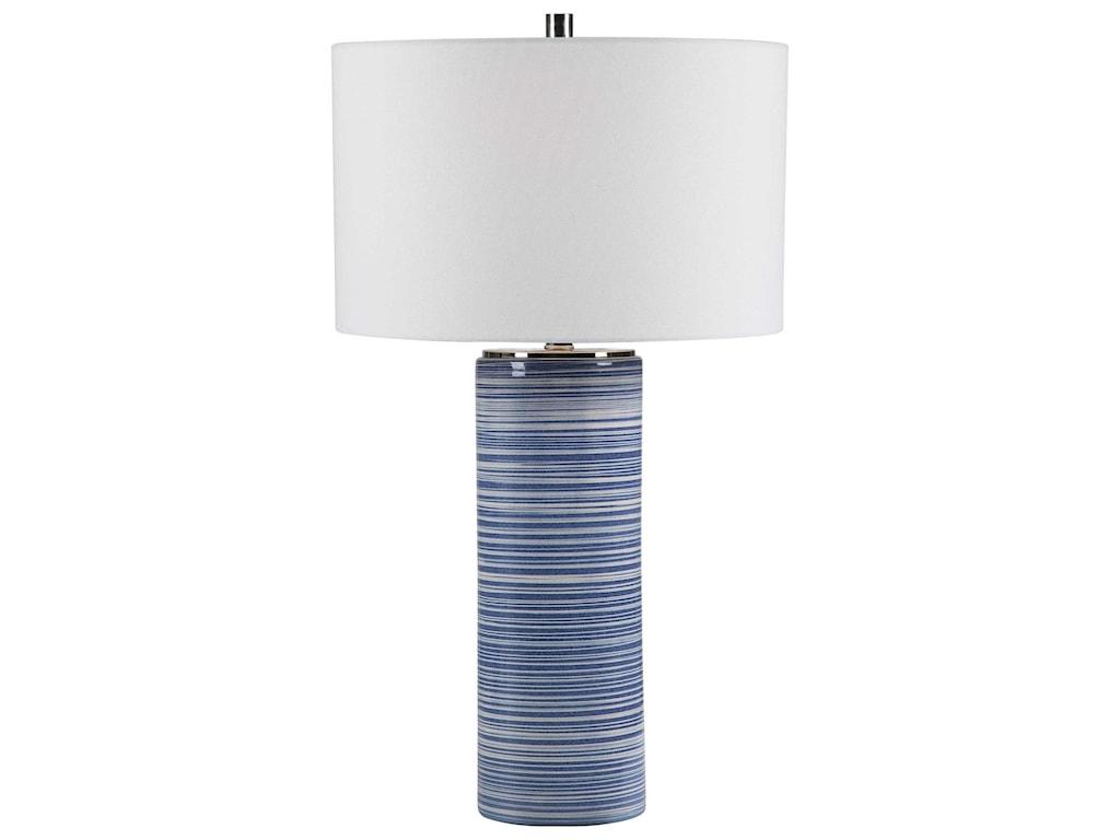 Uttermost Table LampsMontauk Striped Table Lamp