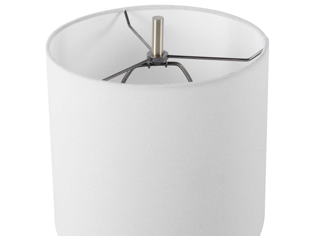 Uttermost Table LampsEloise White Marble Table Lamp