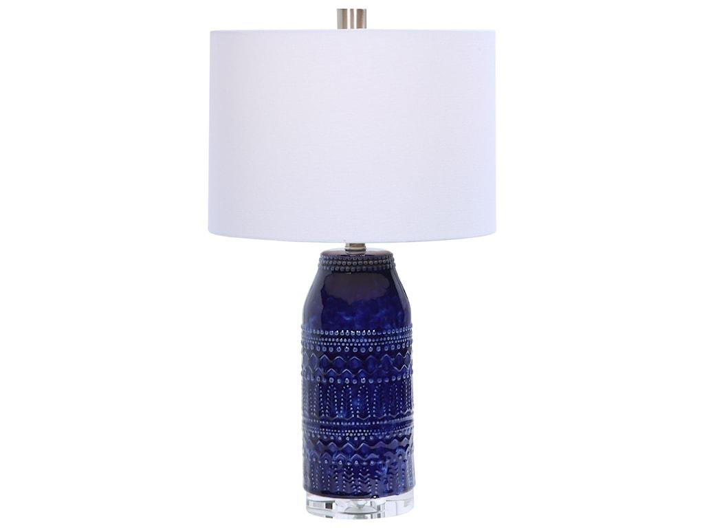 Uttermost Table LampsReverie Blue Table Lamp