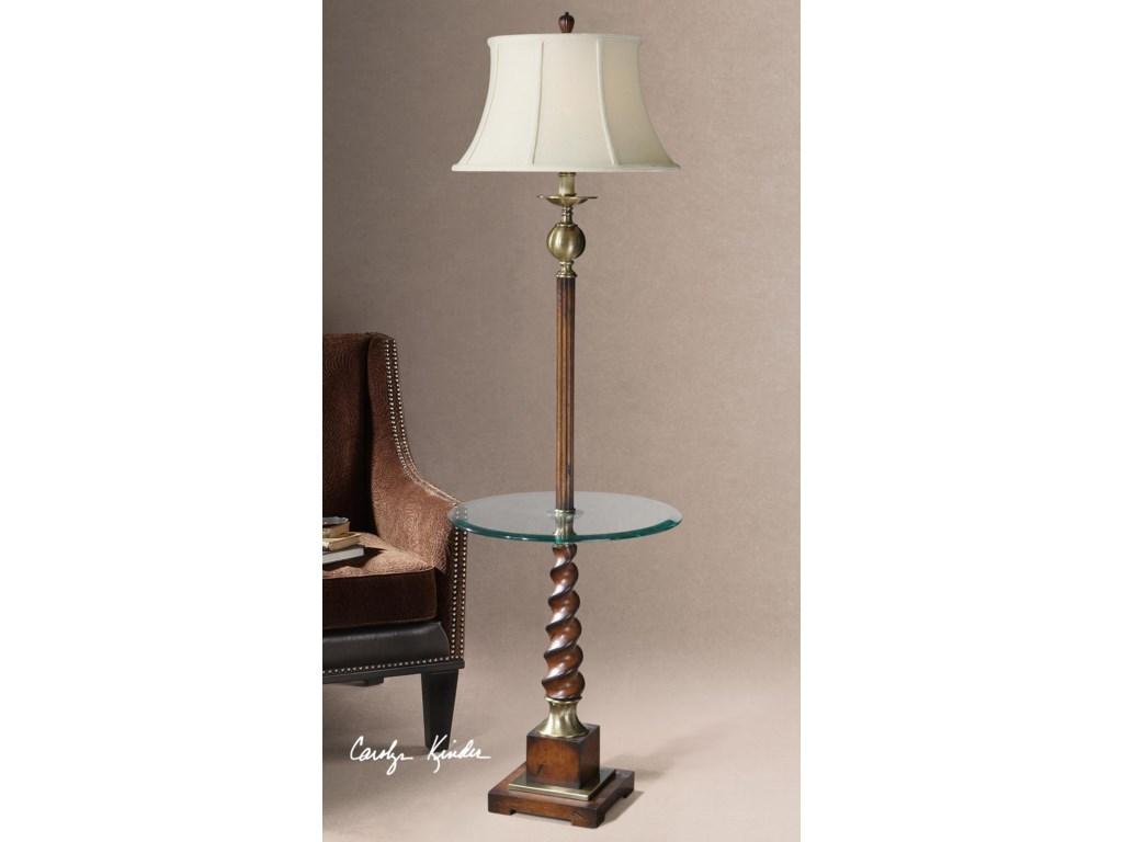 Uttermost Table LampsMyron Twist End Table Lamp