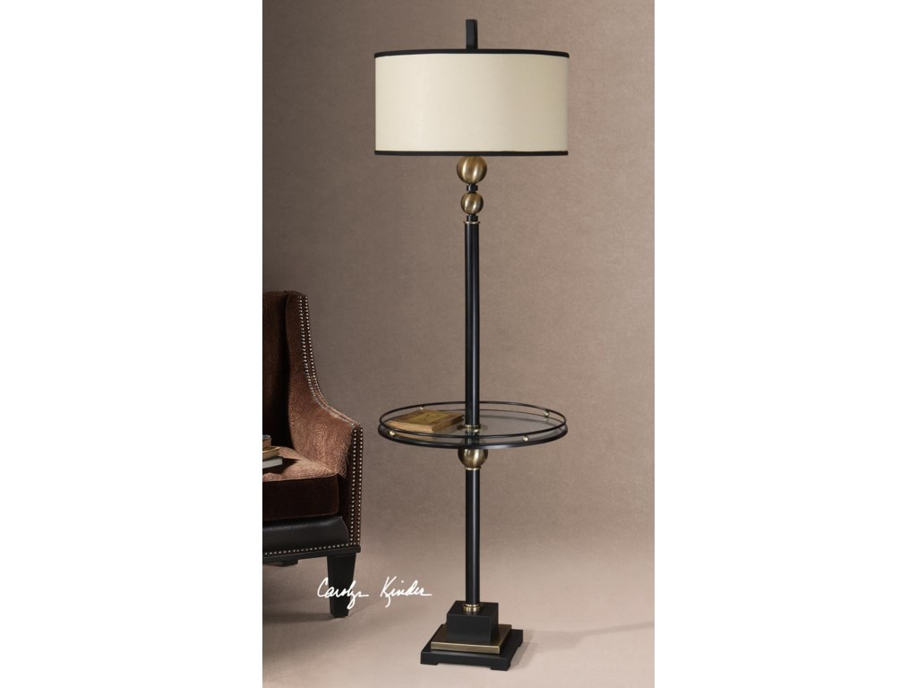 Uttermost Table LampsRevolution End Table Lamp