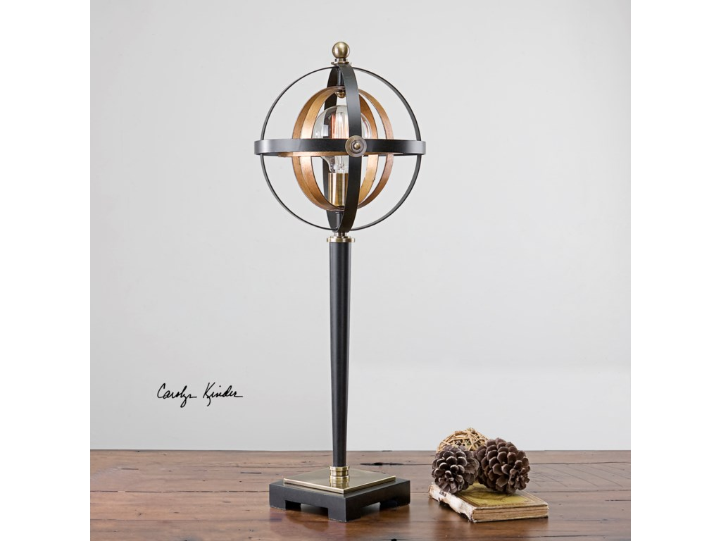 Uttermost Accent LampsRondure Sphere Table Lamp