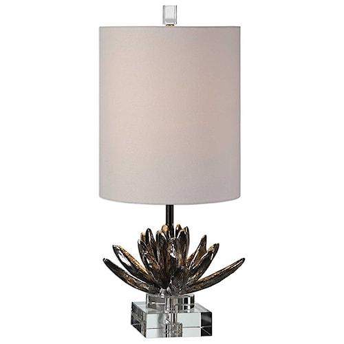 Uttermost lamps silver lotus table lamp aladdin home store table uttermost lamps silver lotus table lamp aloadofball Gallery