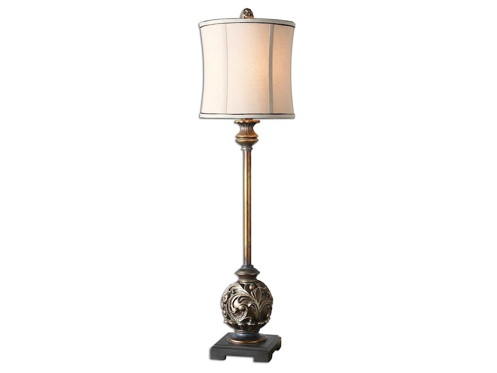 Uttermost Table LampsShahla Bronze