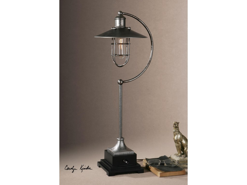 Uttermost Accent LampsToledo Industrial Lamp