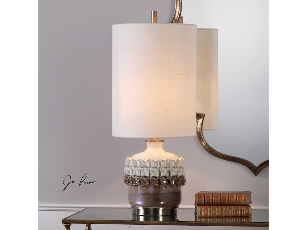 Uttermost Accent LampsElsa Ceramic Accent Lamp