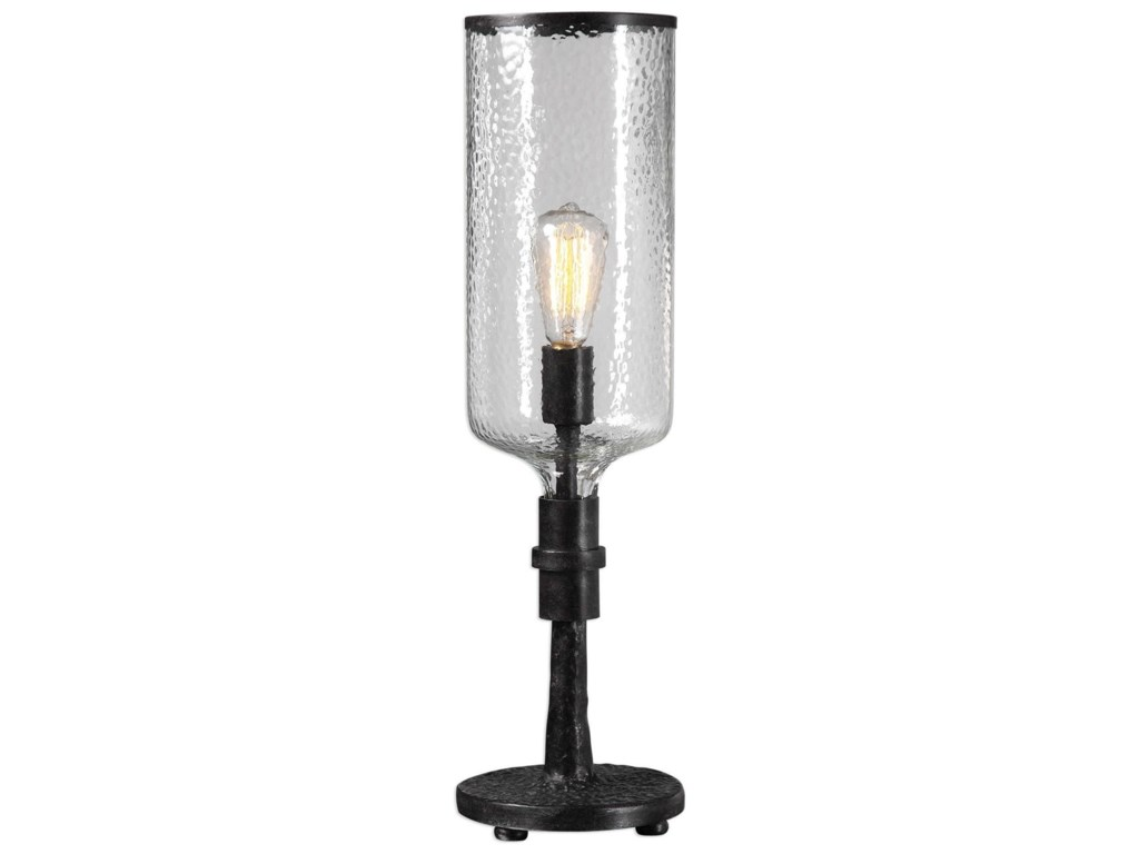 Uttermost Accent LampsHadley Old Industrial Accent Lamp