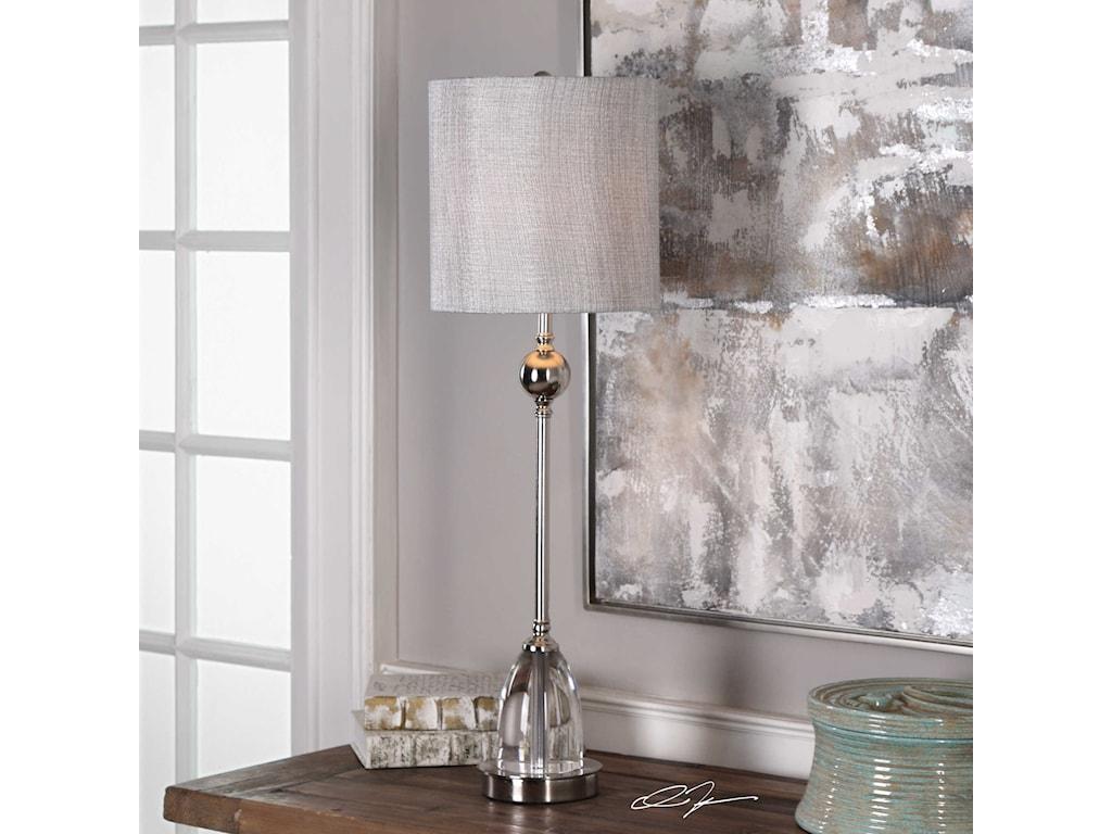 Uttermost Buffet LampsGallo Nickel Buffet Lamp