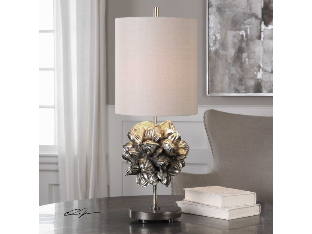 Uttermost Accent LampsNipa Palm Accent Lamp