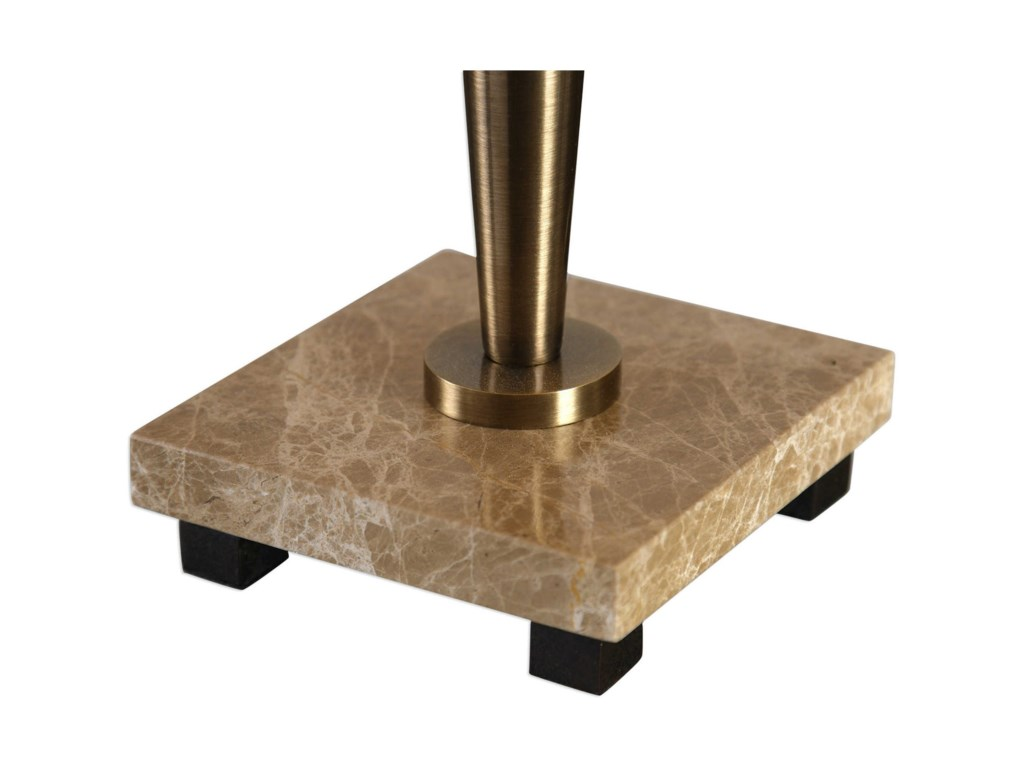 Uttermost Buffet LampsEnnell Antiqued Brass Lamp