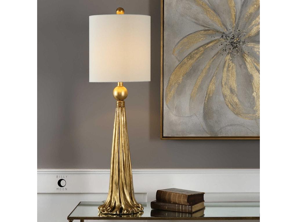 Uttermost Buffet LampsParavani Metallic Gold Lamp