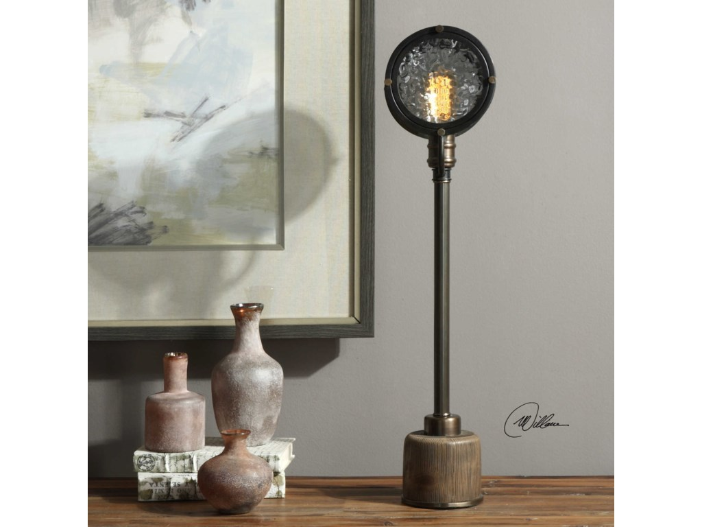 Uttermost Accent LampsGavia Iron Column Lamp