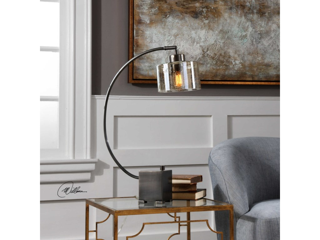 Uttermost Accent LampsCervino Arched Iron Lamp