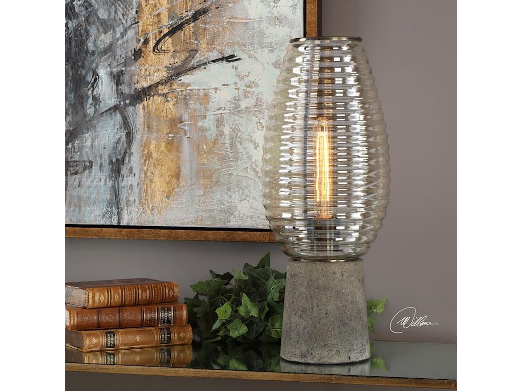 Uttermost Accent LampsAlvarium Hurricane Lamp