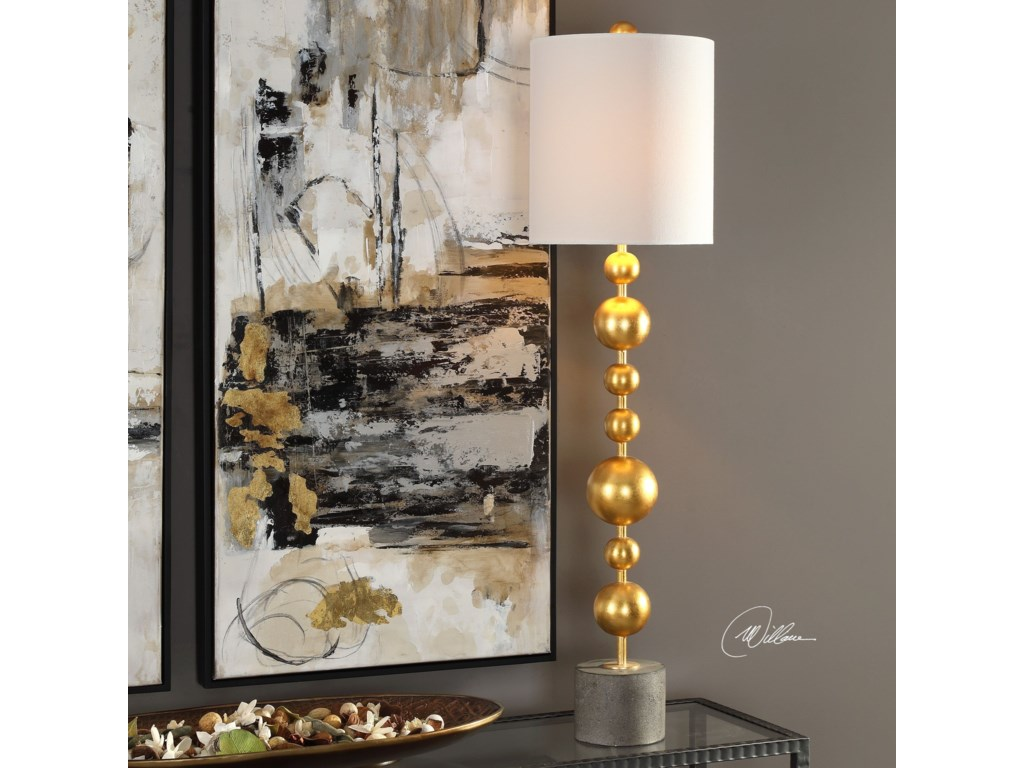 Uttermost Buffet LampsSelim Gold Buffet Lamp
