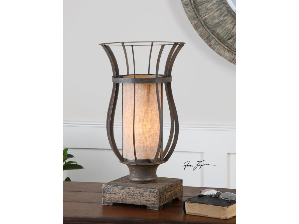 Uttermost Accent LampsMinozzo Bronze Accent Lamp