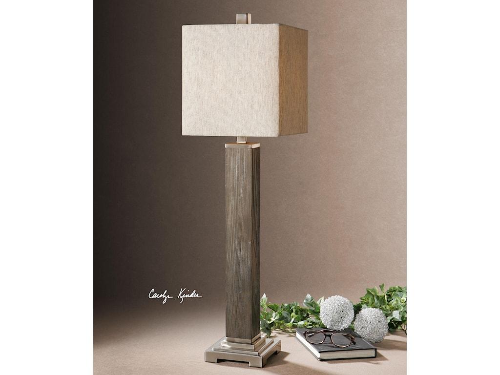 Uttermost Buffet LampsSandberg Wood Buffet Lamp