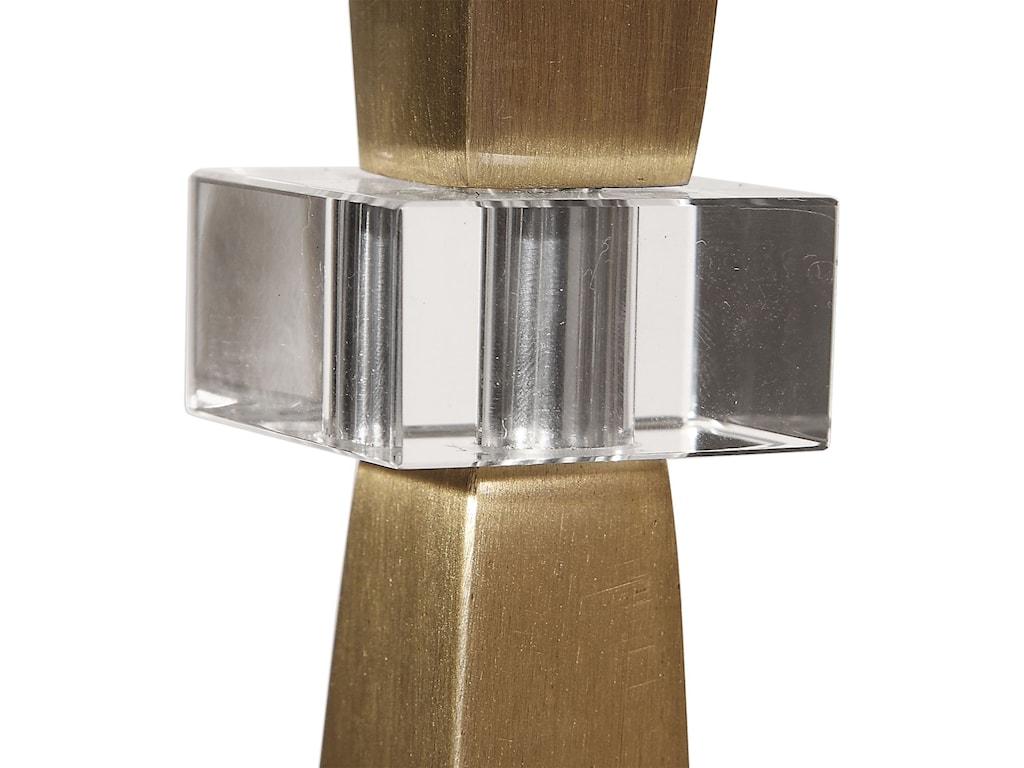 Uttermost Buffet LampsNiccolai Antiqued Nickel Lamp
