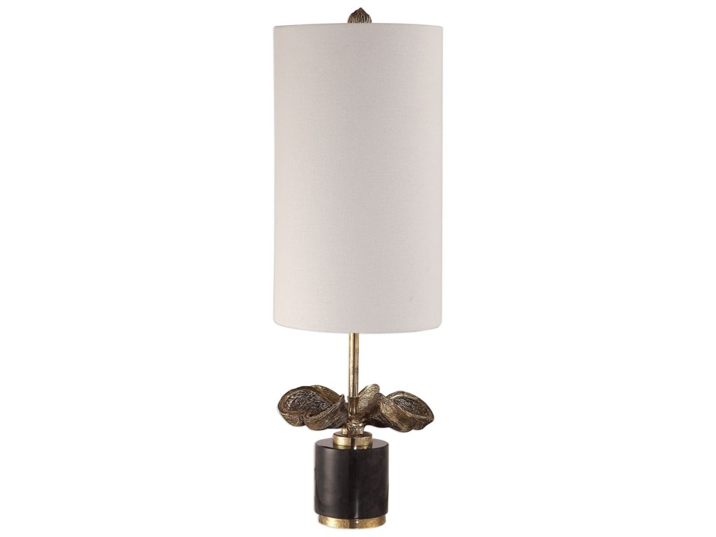 Uttermost Accent LampsSterculia Antique Gold Champagne Lamp