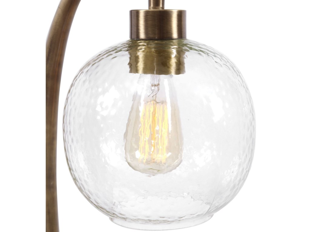Uttermost Accent LampsGacinia Seeded Glass Globe Lamp