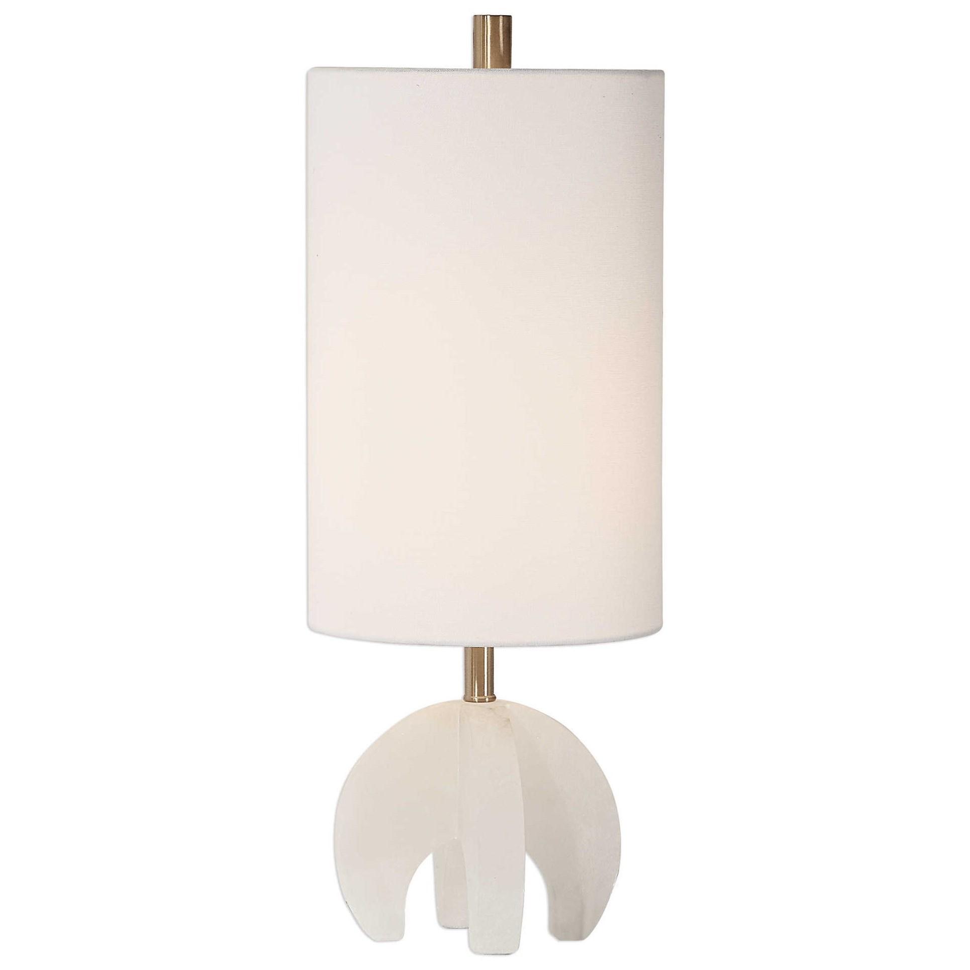 Alanea White Accent Lamp