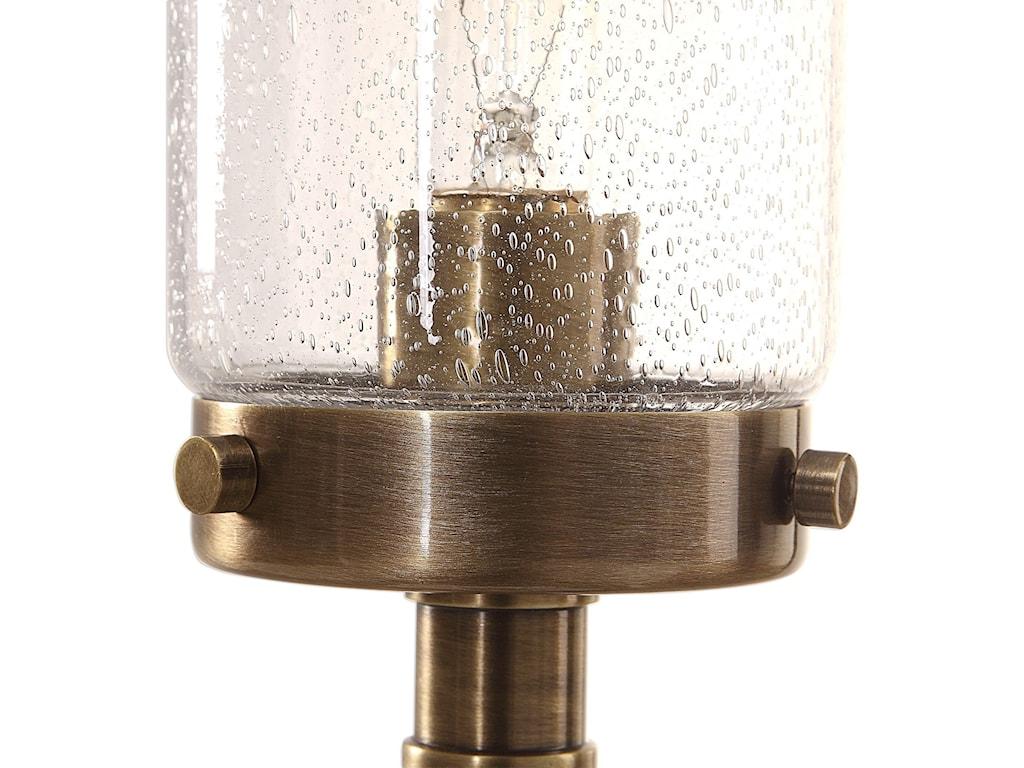 Uttermost Buffet LampsSelane Glass Hurricane Lamp