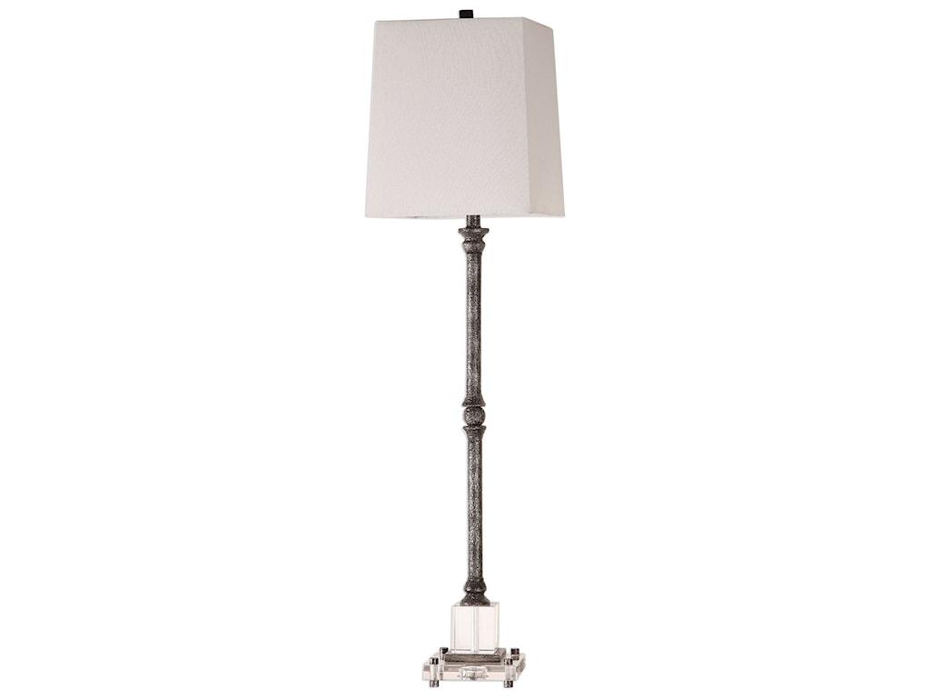 Uttermost Buffet LampsTeala Aged Black Buffet Lamp