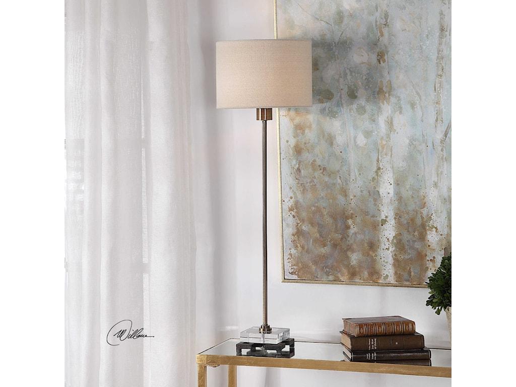 Uttermost Table LampsBrass Table Lamp