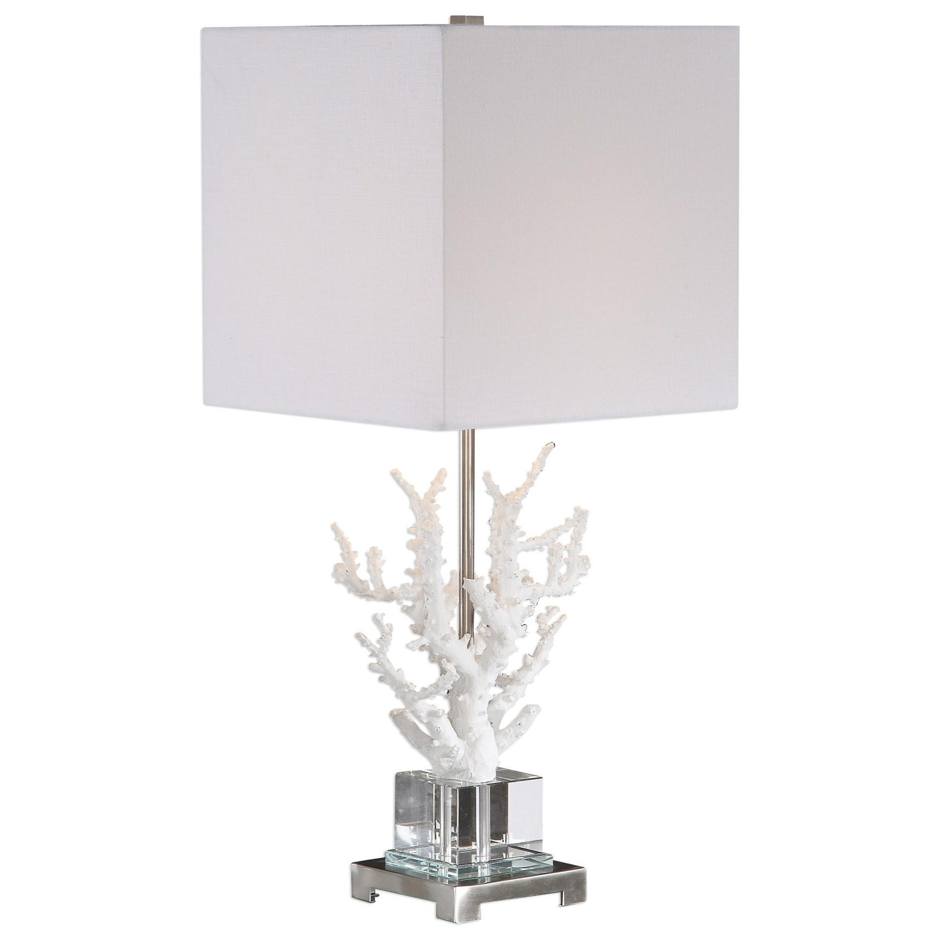 Corallo White Coral Table Lamp