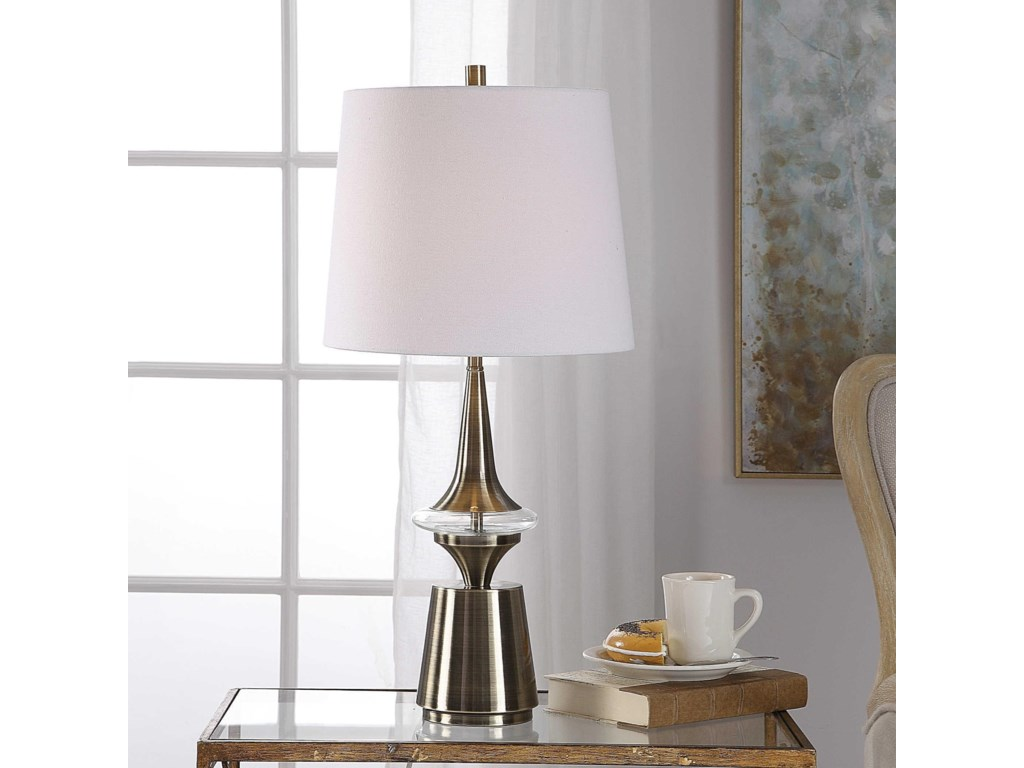 Uttermost Table LampsAlverson Modern Table Lamp
